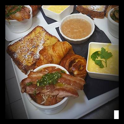 Le brunch du Champoreau restaurant